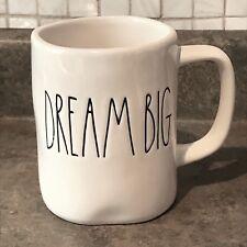 Rae Dunn Magenta Artisan Collection Dream Big Farmhouse Mugs Ceramic Pottery NEW