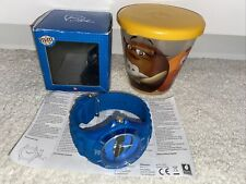 M&M Blue Watch In Box And M&M Yellow Container