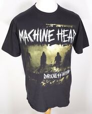 RARE Machine Head Darkness Within T Shirt M Black Band Rock Unto The Locust 2011