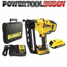 DEWALT DCN660D2 18volt Li-ion XR 2ND FIX NAIL GUN Kit 2 x 2ah Batteries