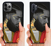 NIPSEY HUSSLE RAP PHONE CASE FOR iPHONE 11 PRO MAX SAMSUNG GALAXY NOTE 10 PLUS