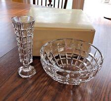Lenox Bowl and Vase  Glass