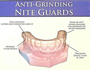 Custom Night Guard Custom Fitted Teeth Grinding   Direct from US Dental Lab