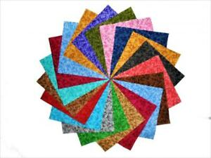 """64 5"""" Beautiful Bamboo Quilting Squares charm pack"""