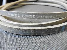 Original toro wheel Horse courroies trapézoïdales propulsion Belt 107662 13,5 x 9,2 x 2930 MM