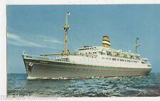 S.S. Ryndam, Holland-America Line Shipping Postcard, B516