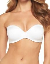 aae529025bd7e Maidenform 05567 Comfort Convertible Strapless Plunge Bra White 34B - New