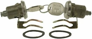 DL7 CHROME LOCK SET GM CHEVROLET CADILLAC BUICK PONTIAC 1960-2001