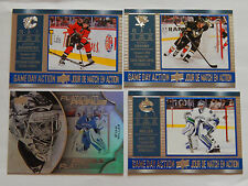 CROSBY  16/17 Tim Hortons Platinum Profiles + game day action lot  GAUDREAU