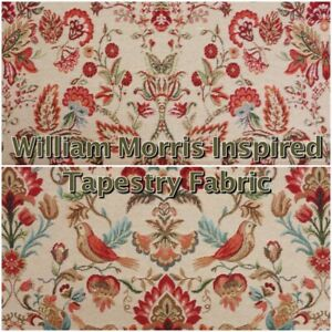 Chatham Glyn William Morris Floral Heavy Tapestry Curtain Upholstery Fabric