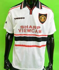 UMBRO 1997-99 Manchester United Away Shirt SIZE Youth L.BOYS 152cm