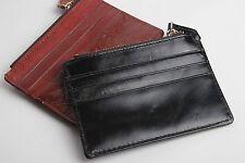 New Genuine Leather Mens Slim Wallet Credit Card Holder