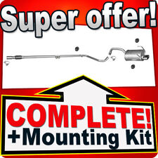 FIAT 500 500C 1.2 Chrome Endpipe  Exhaust System T47A