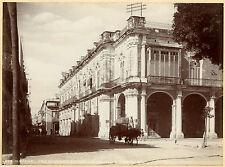 1898, J Murray Jordan, OBISPO Street, HAVANA, cuba, original photo 20.75x15.25cm