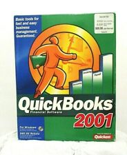 QuickBooks 2001 Unused Open Box