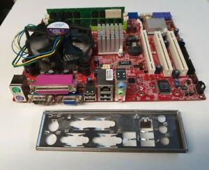 Carte mère MSI  MCRO ATX  MS-7529 VER :1.1 +DUAL CORE E2180 (2.00GHZ)+4GB DDR2