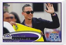 2012 Topps Update Carlos Gonzalez SP variation US259 Free Shipping