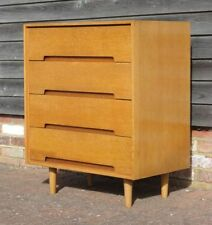 Vintage/Retro Oak 4 Chests of Drawers