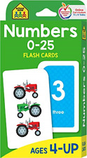Numbers Educational Flash Cards Toddlers Learning Preschool Kids Learn Math