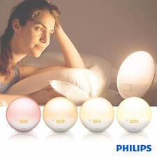 Philips Wake up Light Colored Sunrise (HF3531/60) 7 Sounds, Midnight Light