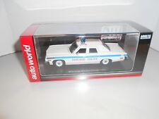 AWW1142 by AUTOWORLD DODGE MONACO CHICAGO POLICE 1974 1:43