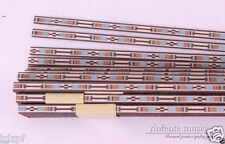 20 strip LUTHIER PURFLING BINDING MARQUETRY INLAY New 640x6x1mm #67