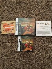 AVATAR: The Last Airbender - The Burning Earth  Nintendo DS Complete in Box CIB