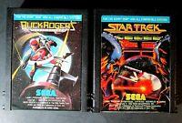 Vintage Atari 2600 Game Cartridge Lot Of 2 Star Trek And Buck Rogers