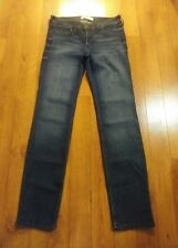 Hollister Straight dark blue denim pants RN75654 Size:5R W27xL32