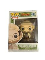 Funko Pop Movie Jumanji Professor Oberon Collectible Vinyl Figure minor box wear