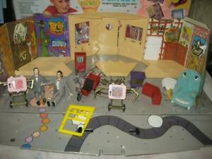 1988 Matchbox Pee-Wee's Playhouse Playset In Box