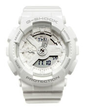 Casio GMAS110CM-7A1 G-Shock Analog Digital Dial White Resin Band Watch New