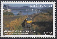 Upaep Panamá 1136 1994 Tren Postal train railway MNH