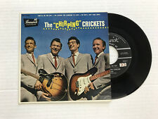 BUDDY HOLLY-CHIRPING CRICKETS-BRUNS EP EB 71036-1st PRESS-VINYL 9.0, COVER 9.4