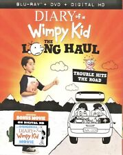 DIARY OF A WIMPY KID THE LONG HAUL(BLU-RAY+DVD+DIGITAL HD)W/SLIP COVER BRAND NEW