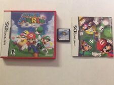 Super Mario 64 + MarioKart Lot Nintendo DS CIB Complete Authentic Tested