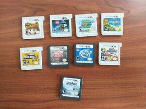Nintendo 3ds GBA GB and DS games lot Bundle Mario Kirby Pokemon Jurassic World