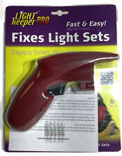 Light Keeper Pro Holiday and Christmas Tree Light Repair Tool with 5 Spare Bulbs