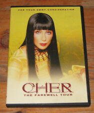 CHER: THE FAREWELL TOUR DVD -  RARE OFFICIAL EMMY COLLECTIBLE, 2003, MINT DVD