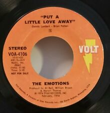 "Emotions Volt 4106 ""PUT A LITTLE LOVE AWAY""PROMO / FREE SHIPPING / MAKE OFFER"