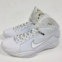 Nike Hyperdunk '08 Triple White Pure Platinuim 820321-100 Men's Size 10