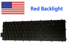 New For Dell Gaming G5 5587 5590 Laptop Red Backlight Keyboard Black