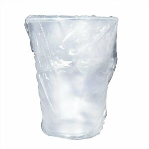 Coffeepro Plastic Cups, Individually Wrapped, 9oz, 1000/CT, Clear