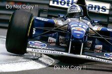 David Coulthard Williams FW17 Monaco Grand Prix 1995 Photograph