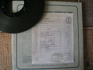 REEL TO REEL TAPE Eagles – Hotel California 2TR FIRST GEN. MASTER TAPE