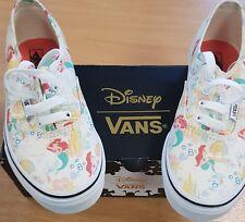 VANS Disney Princess Little Mermaid Ariel Shoes Size 2 Youth - REDUCED