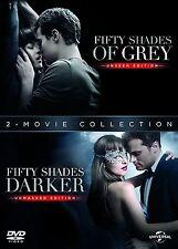 Fifty Shades Darker + Fifty Shades of Grey: 2 Movie Box Set DVD - NEW & SEALED
