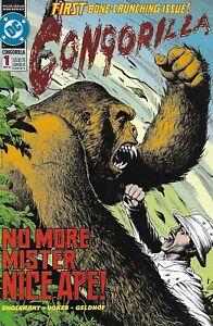 Congorilla Comic 1 Cover A First Print 1992 Englehart Vokes Geldhof DC .