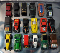 Lot, 18 x Loose 1970-2002 HOT WHEELS Diecast Toy Vehicles