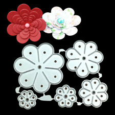 Flower Metal Cutting Dies Stencil DIY Scrapbooking Embossing Album Paper Crafts
